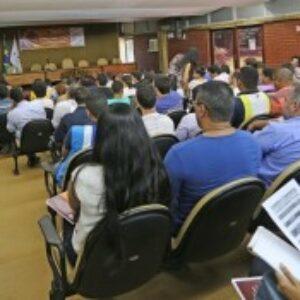 Gerente de Fiscalização ministra palestra no VI Simpósio Brasileiro de Ciências Geodésicas e Tecnologias da Geoinformação