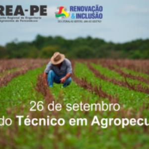 Crea-PE comemora o Dia do Técnico em Agropecuária