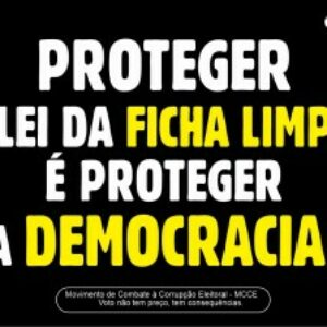 Sistema Confea/Crea e Mútua apoia Movimento de Combate à Corrupção Eleitoral