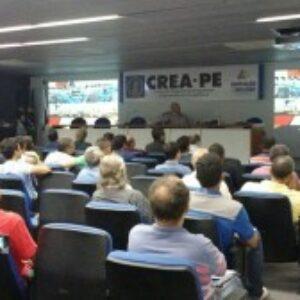 Auditório lotado para palestra sobre Proteção Contra Raios do Terça no Crea