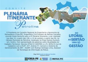 convite-plenaria-itinerante-petrolina