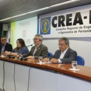 Com auditório lotado, Crea-PE promove debate sobre condomínios e manutenção predial