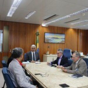 Presidente Evandro Alencar se reúne com presidente da Chesf para tratar de reaproximação entre os dois órgãos