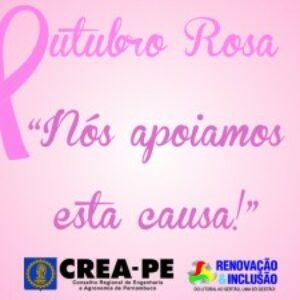 Prevenção do câncer de mama é tema de palestra para colaboradores do Crea-PE