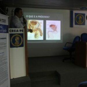Novembro Azul: Crea-PE realiza palestra para conscientização sobre o câncer de próstata