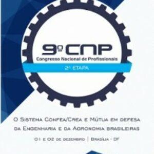 Segunda etapa do 9º CNP começa no dia 1º de dezembro