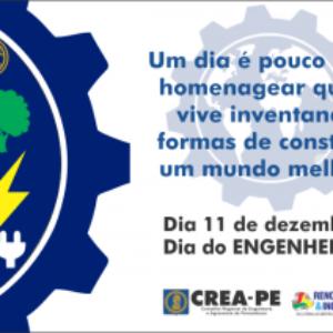 Crea-PE celebra Dia do Engenheiro