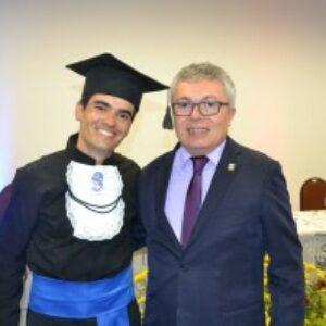 Evandro Alencar participa de colação de grau da AESGA