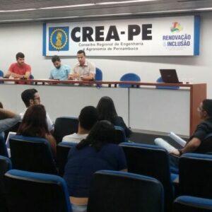 CREA Jr PE escolhe novos coordenadores de comissões