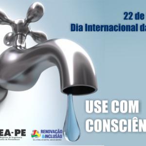 22 de março. Dia Internacional da Água