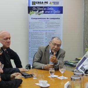Senador Cristovam Buarque visita o CREA-PE