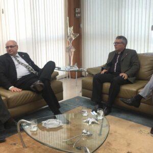 Presidente do CREA-PE se reúne com novo diretor-presidente da Chesf