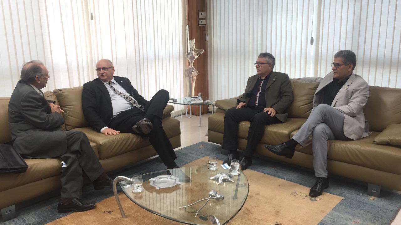 Read more about the article Presidente do CREA-PE se reúne com novo diretor-presidente da Chesf