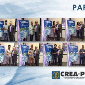 Profissionais de Petrolina recebem carteiras do CREA-PE das mãos do presidente Evandro Alencar