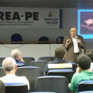 Professor Mário Antonino fala sobre novas tecnologias no Terça no CREA