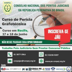 CONPEJ oferece curso de Perícia Grafotécnica