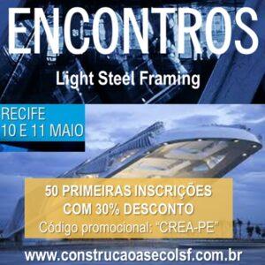 Evandro Alencar fará palestra no 1º Encontro Regional de Construção a Seco – Light Steel Framing