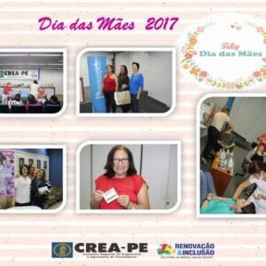 CREA-PE fez ação interna para as mães do Conselho