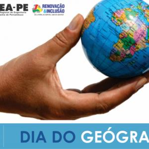 CREA-PE homenageia os geógrafos pernambucanos