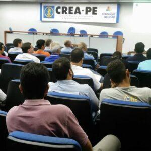 Blocos de gesso e suas inovações foi tema de palestra no CREA-PE