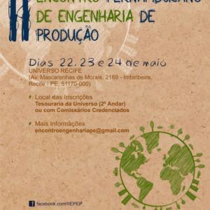 II Encontro Pernambucano de Engenharia de Produção