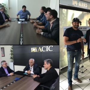 Presidente do CREA-PE cumpre agenda de compromissos em Caruaru e Araripina
