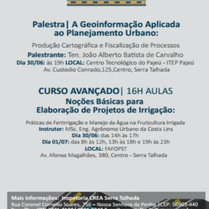 Serra Talhada recebe Projeto CREA na Estrada