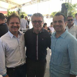 Presidente do CREA-PE participa de inauguração do maior parque eólico do Brasil na Chapada do Araripe