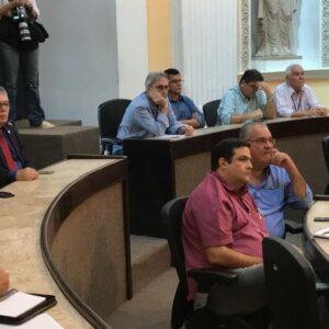 Presidente e chefe de Gabinete do CREA-PE participam de audiência pública na ALEPE