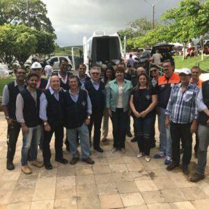 Técnicos do CREA-PE visitaram o município de Palmares onde fizeram verificação técnica e entrega de donativos