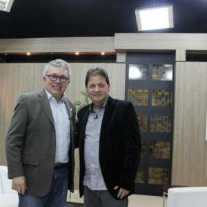 Presidente Evandro Alencar concede entrevista à TV Nova Nordeste