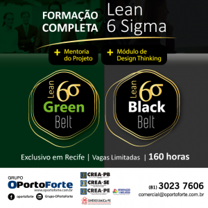 Grupo OPortoForte oferece formação completa em Lean 6 Sigma