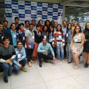 CREA Jr PE fala sobre programa pernambucano aos estudantes e coordenadores do programa no CREA-PB