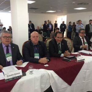Durante três dias Evandro Alencar participa de Reunião do Colégio de Presidentes em Vitória (ES)