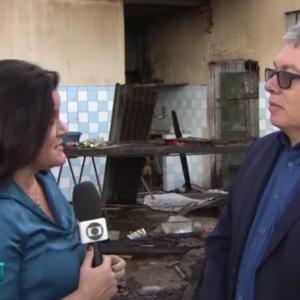 Presidente do CREA-PE concede entrevista sobre desabamento em Paulista, às emissoras de TV