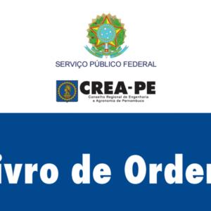 Sistema Confea/Crea torna obrigatória adoção do Livro de Ordem