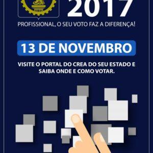 Sistema CONFEA/CREA e Mútua realizará processo eleitoral para Presidentes e Diretores