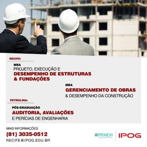 IPOG abre inscrições para Pós e MBA nas áreas das Engenharias