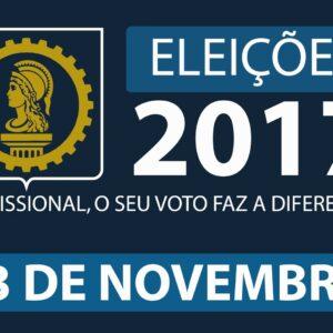 CREA-PE convoca profissionais do Sistema para trabalharem nas eleições do dia 13 de novembro