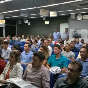 Terça no CREA ofereceu palestra sobre saneamento e tubulações