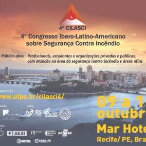 Recife sediará 4° Congresso Ibero-Latino-Americano em Segurança Contra Incêndios (4° CILASCI)