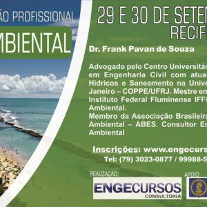 Engecursos inscreve para curso de Capacitação Profissional em Perícia Ambiental.