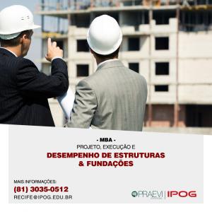 IPOG abre inscrições para curso pioneiro na área de desempenho de estruturas