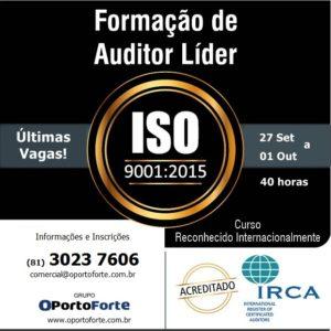 OPorto Brazil inscreve para curso de Formação de Auditor Líder