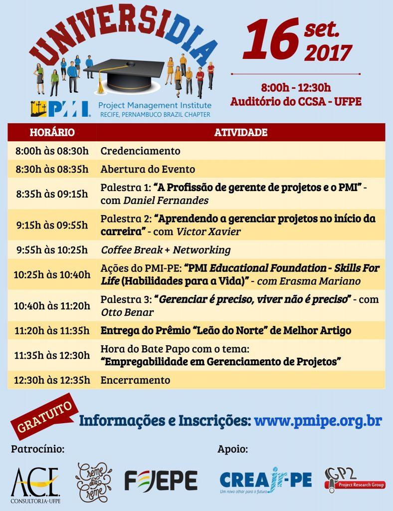 Read more about the article PMI-PE realiza evento gratuito para estudantes