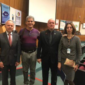 Representantes doCREA-PE visitam gestores doCREA-RS