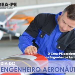 CREA-PE celebra Dia do Engenheiro Aeronáutico