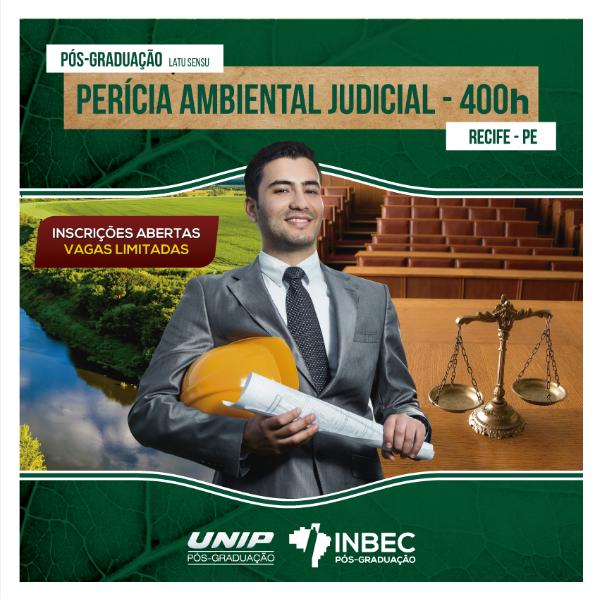 Read more about the article INBEC oferece Pós-graduação em Perícia Ambiental Judicial