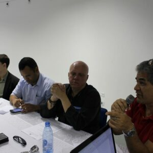 Inspetores se reúnem com presidente do CREA-PE em Arcoverde