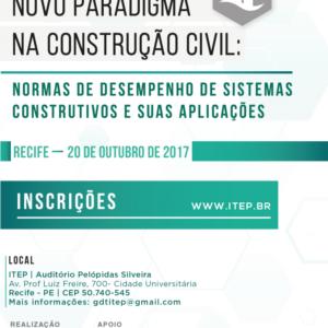 ITEP realiza seminário sobre novo paradigma na construção civil